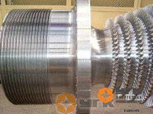 Ротор конденсационной турбины